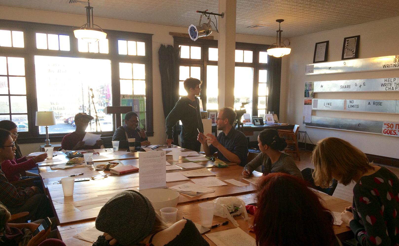 Just-Buffalo-Writing-Center-workshop