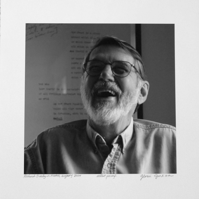 Robert Creeley - Photo by Gloria Graham, 2004