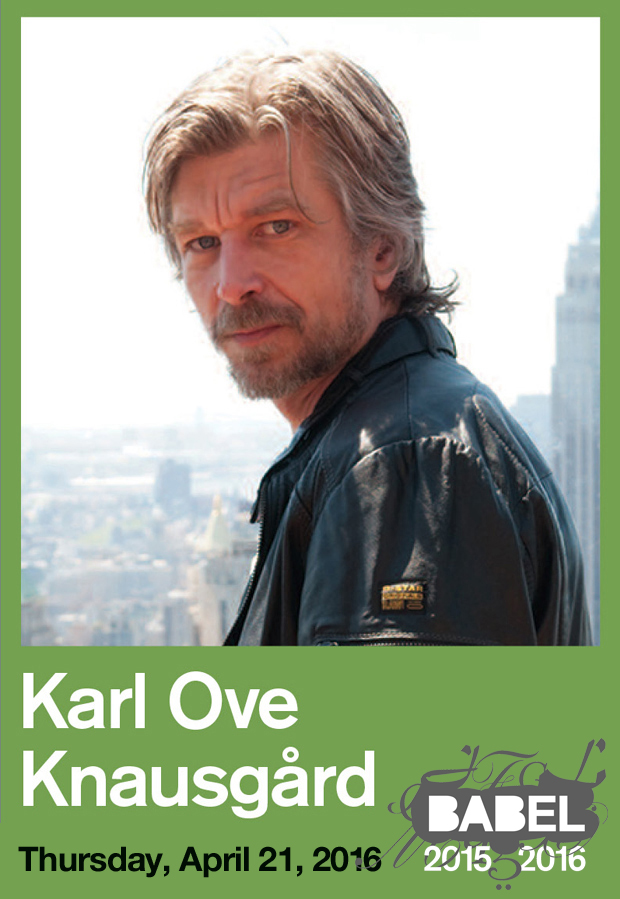 Karl Ove Knausgaard - BABEL - Just Buffalo Literary Center