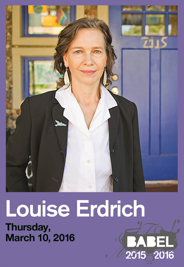 Louise Erdrich - BABEL - Just Buffalo Literary Center