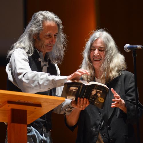 Annual Campaign - BABEL - Patti Smith - Just Buffalo Literary Center