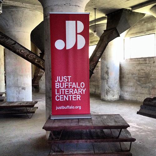 Annual Campaign - Silo City Banner - Just Buffalo Literary Center