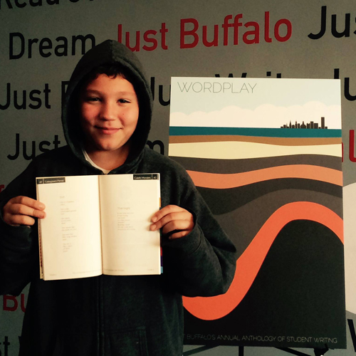 Annual Campaign - WORDPLAY Annual Student Anthology - Just Buffalo Literary Center