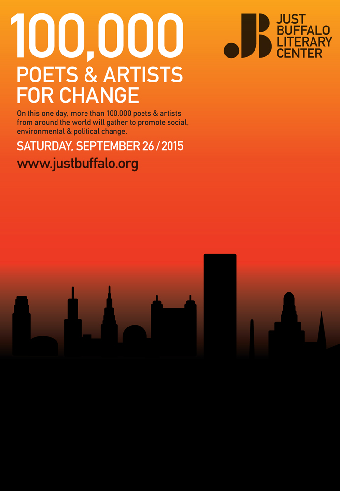 100,000 Poets and Artists for Change 2015 - Just Buffalo Literary Center