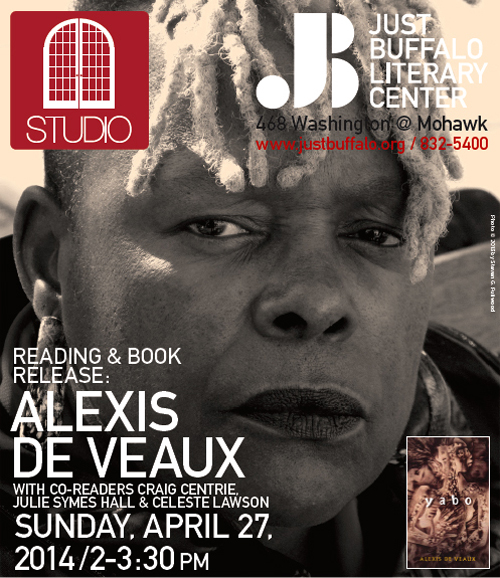 Alexis de Veaux - STUDIO - Just Buffalo Literary Center