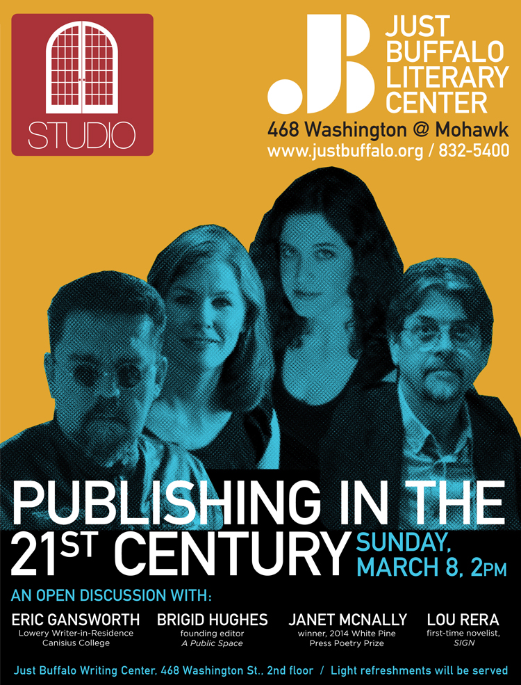 Eric Gansworth - Brigid Hughes - Janet McNally - Lou Rera - STUDIO - Just Buffalo Literary Center