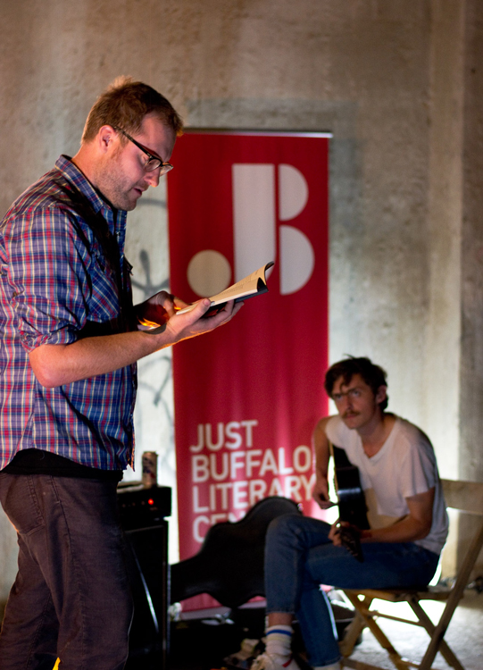 Zachary Schomburg - 2015 Silo City Reading Series - Just Buffalo Literary Center