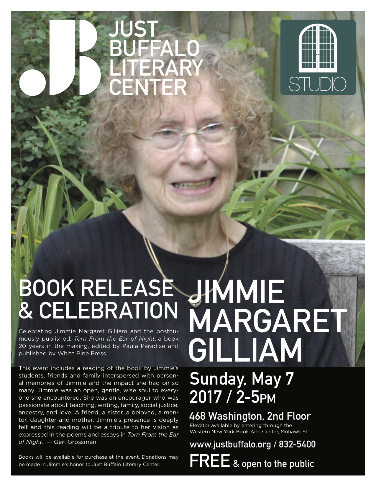 Jimmie Margaret Gilliam book release & celebration
