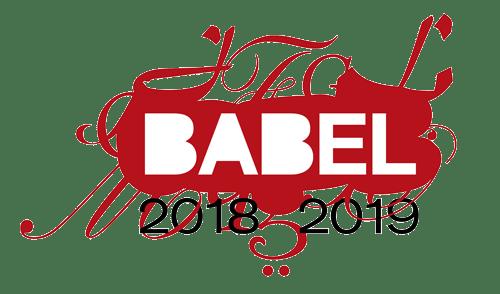 BABEL - 2018-2019 - Just Buffalo Literary Center - Buffalo NY