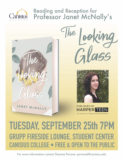 Reading and Reception for Janet McNally's THE LOOKING GLASS