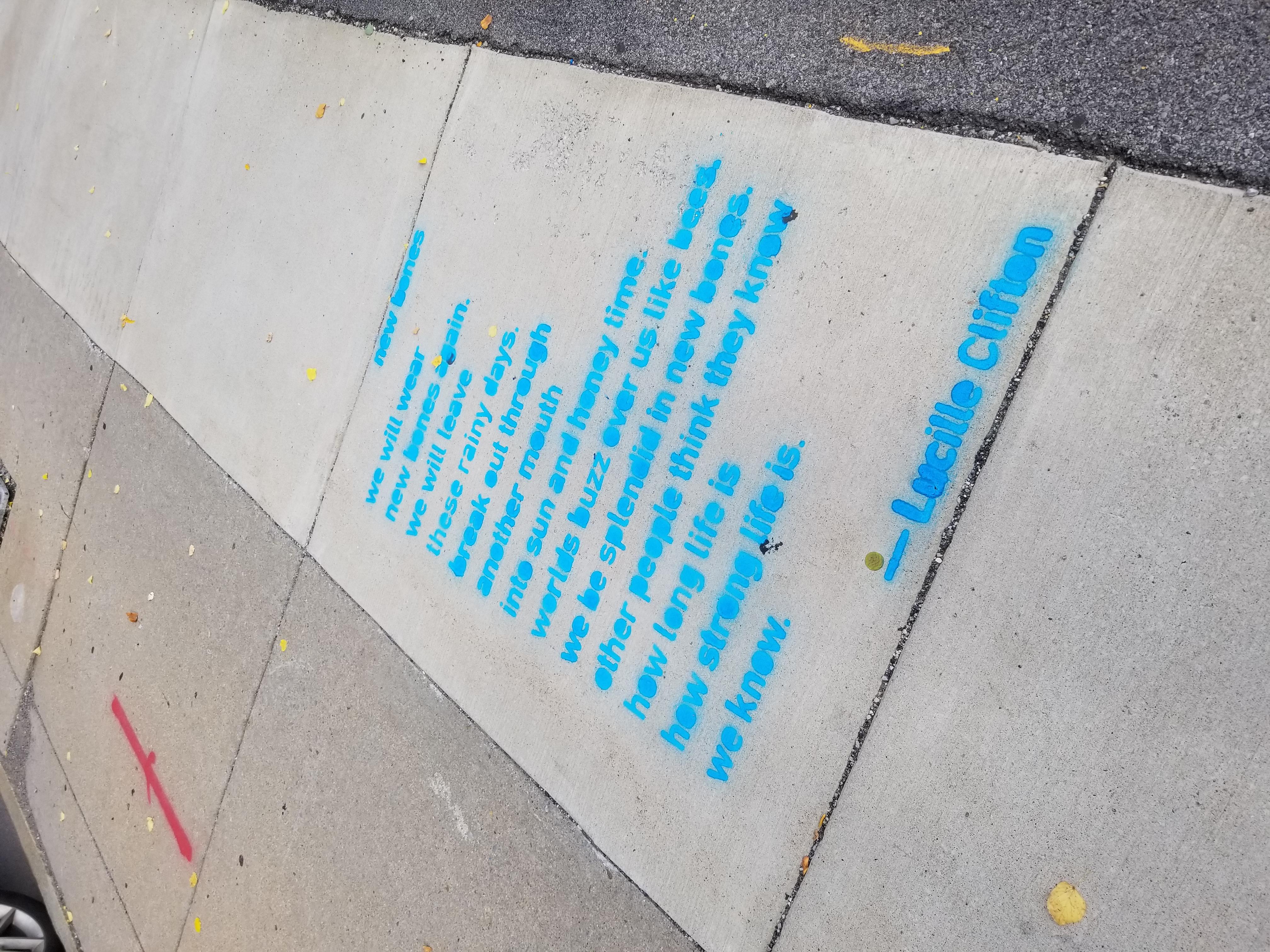 Words on the Street   Just Buffalo Literary Center   Buffalo, NY