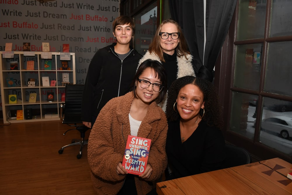 Jesmyn Ward student event book signing