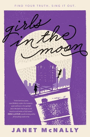 Janet McNally - Girls in the Moon - Just Buffalo Literary Center