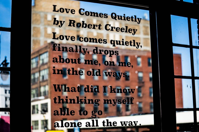 Creeley poem window-min