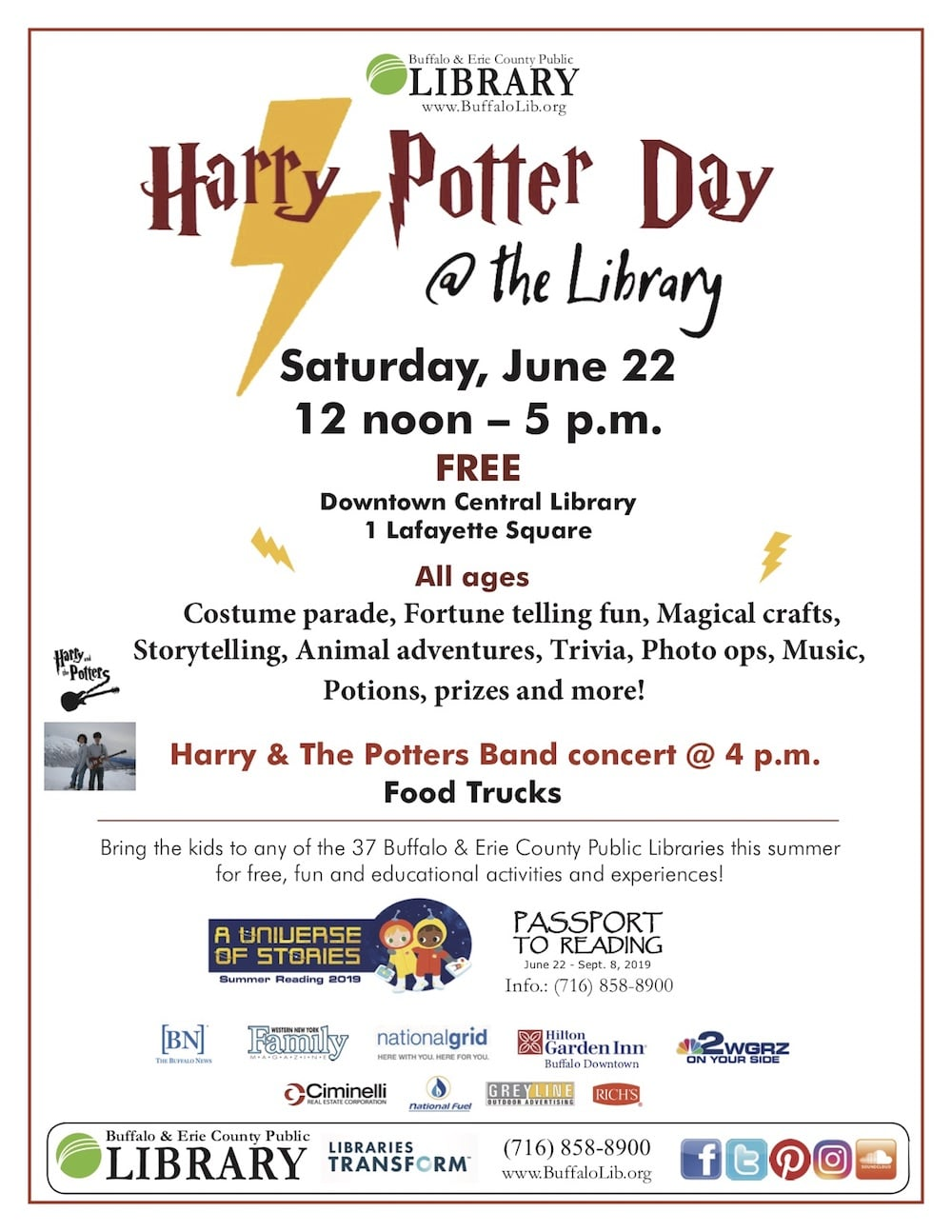 Harry Potter Day@The Library