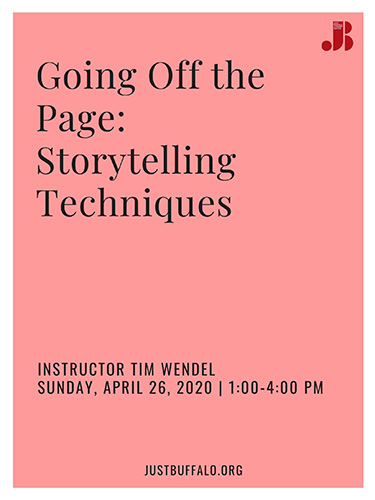 Going Off the Page- Storytelling Techniques