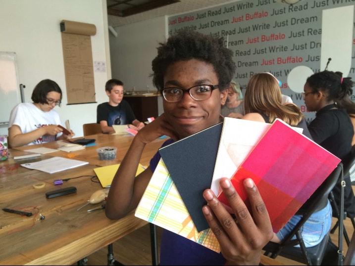 Ikuris Chapbooks - In-School Programming - Just Buffalo Writing Center