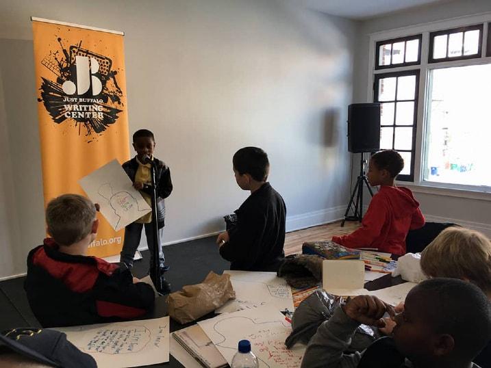 Tapestry Field Trip - In-School Programming - Just Buffalo Writing Center