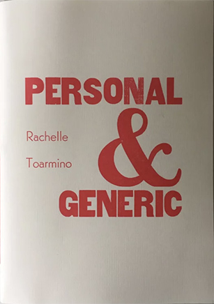 personal and generic