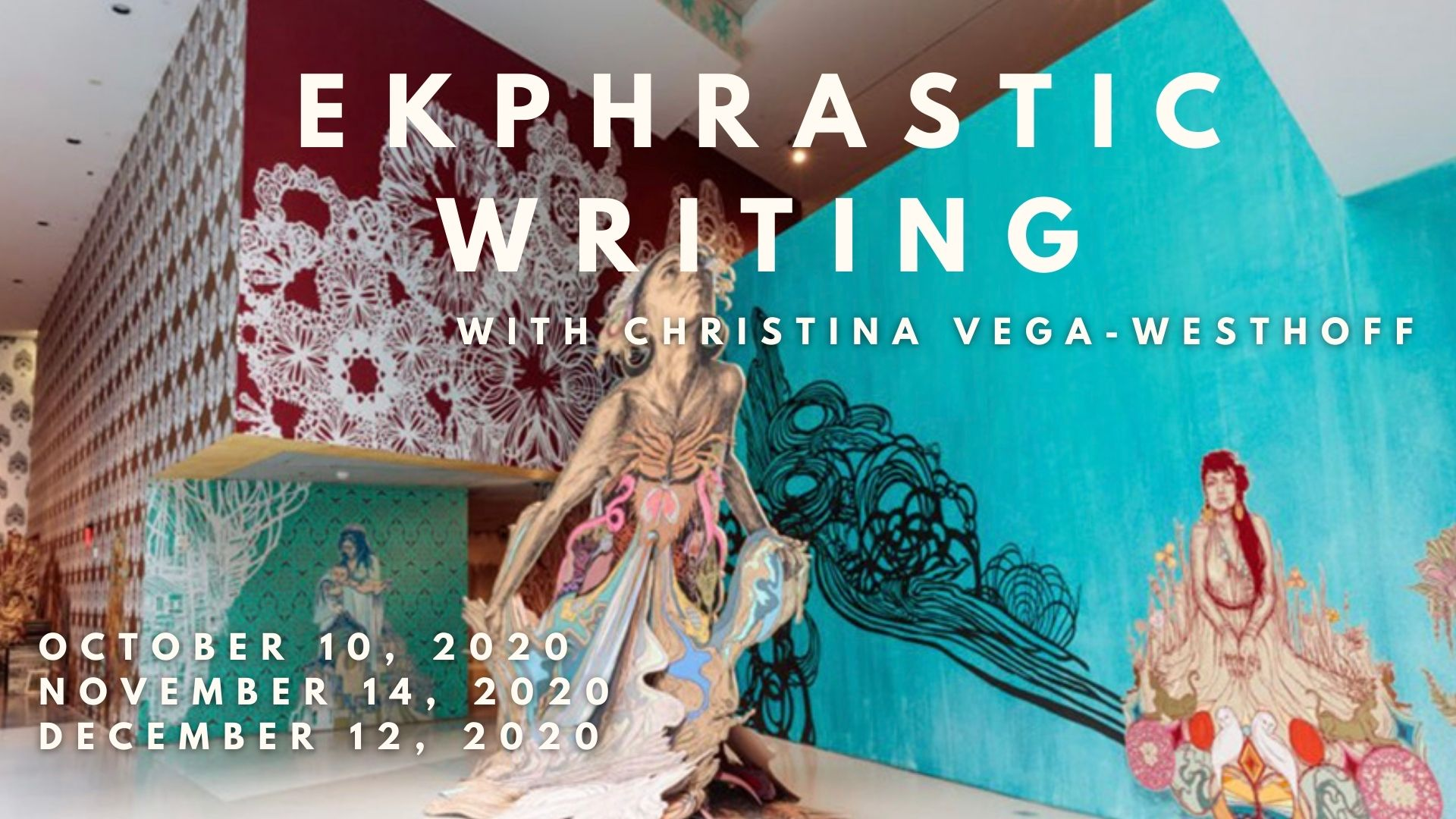 Ekphrastic Writing inspired by Swoon