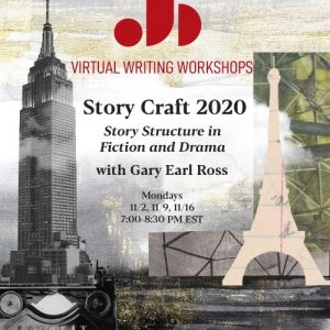 Fall 2020 Adult Writing Workshop Gary Earl Ross Story Craft 2020 Just Buffalo Literary Center Buffalo NY