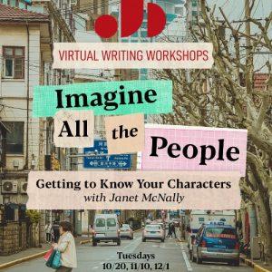 Fall 2020 Adult Writing Workshop - Janet McNally - Imagine All The People - Just Buffalo Literary Center - Buffalo NY