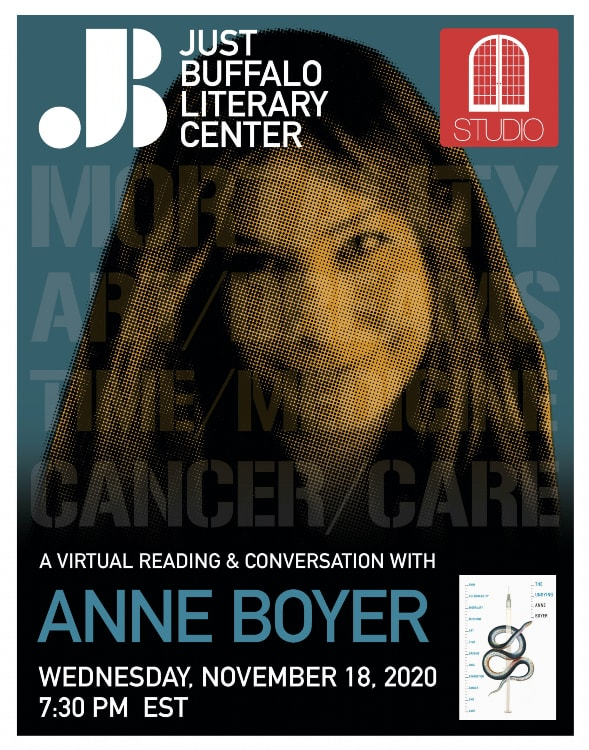 STUDIO - Anne Boyer - 2020 - Just Buffalo Literary Center - Buffalo NY