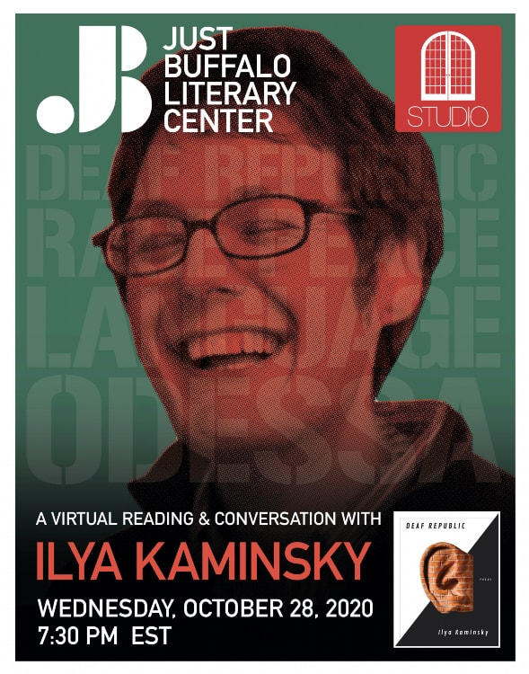 STUDIO - Ilya Kaminsky - 2020 - Just Buffalo Literary Center - Buffalo NY