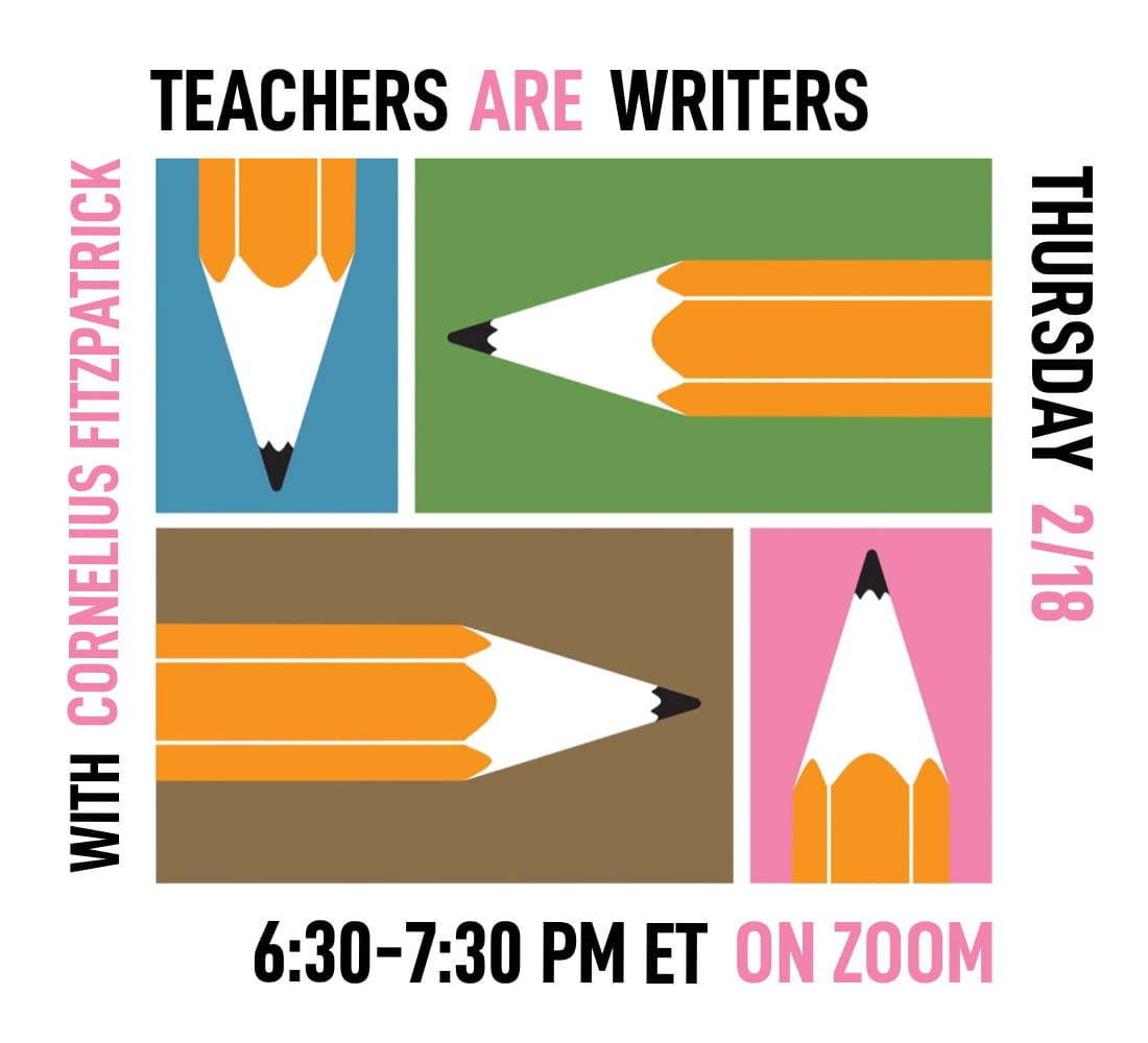Teachers Are Writers - Feb 2021