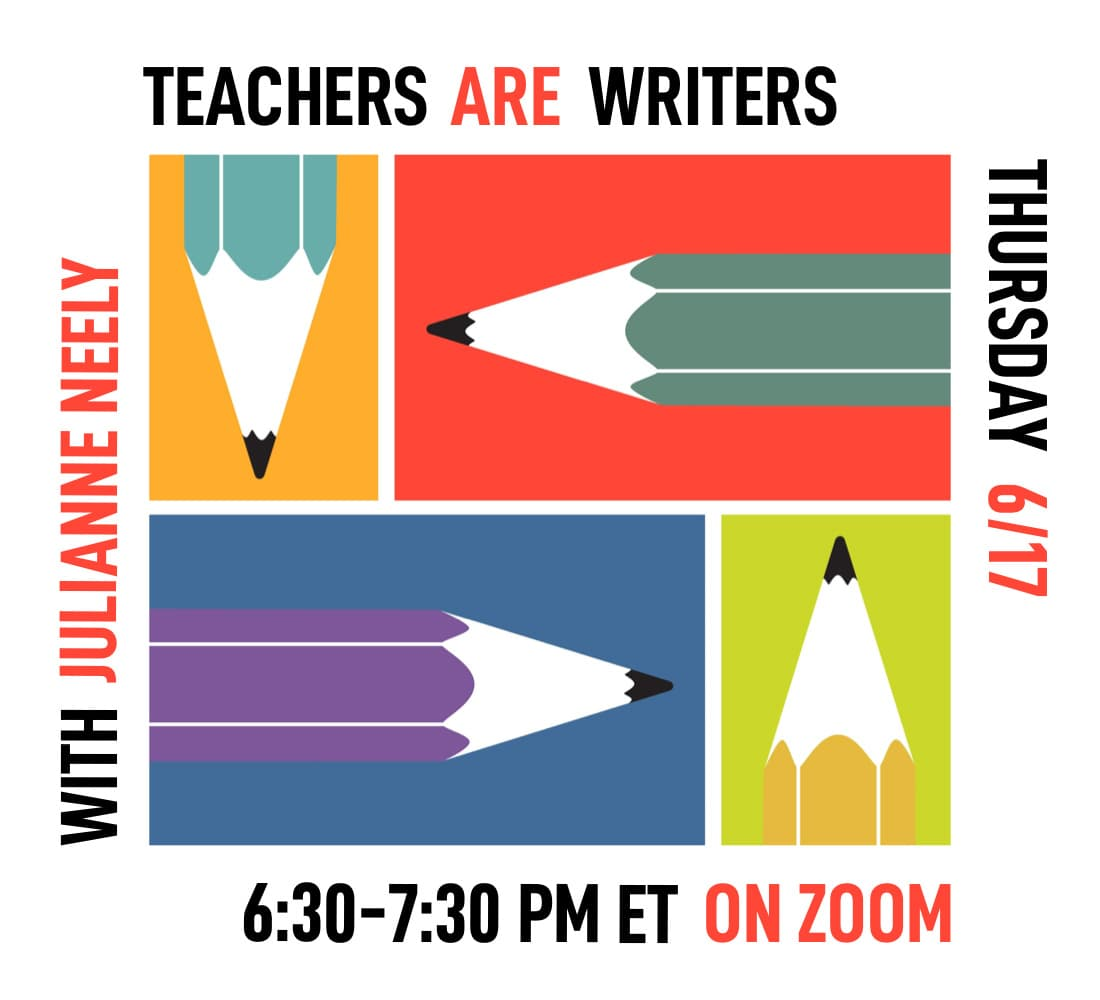 Teacher ARE Writers - June 2021