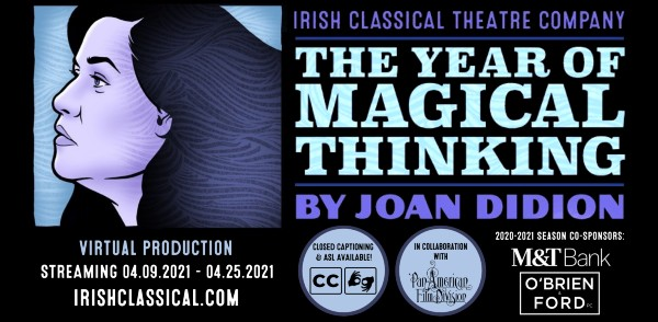 The Year of Magical Thinking by Joan Didion, presented by Irish Classical Theatre Company
