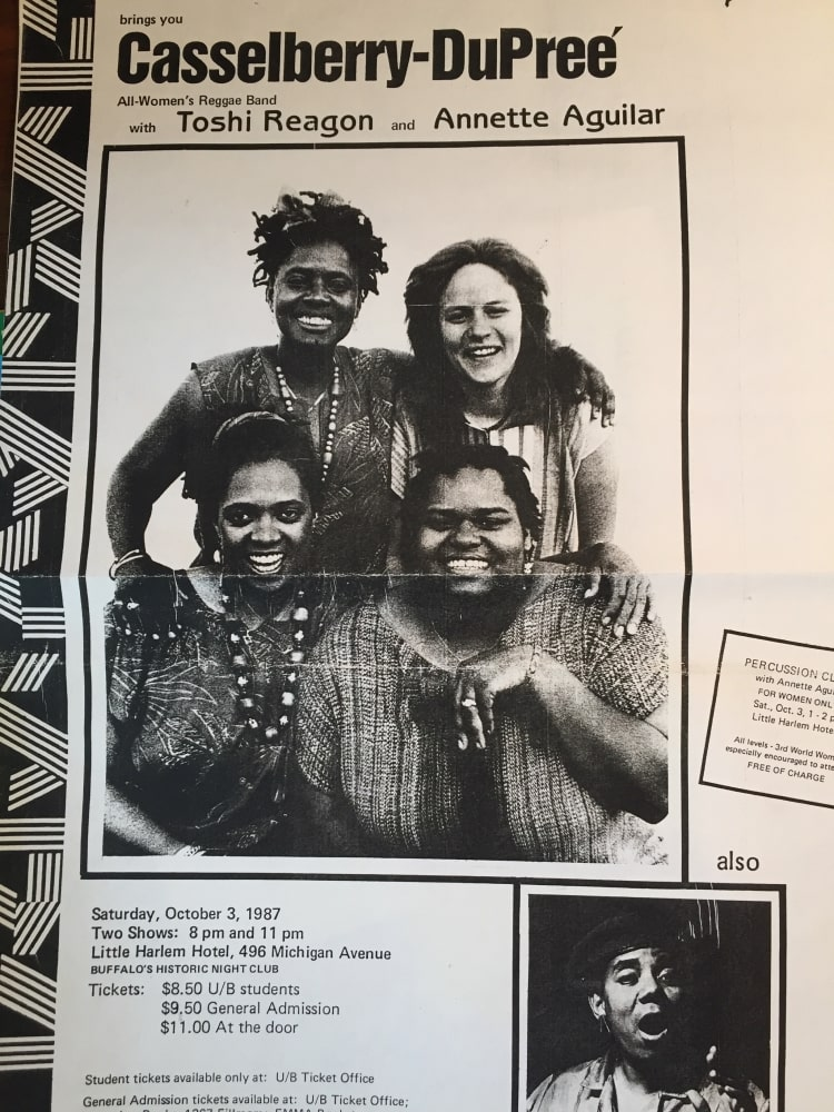 Casselberry-Dupree Reggae Band 1987 - History - Just Buffalo Literary Center