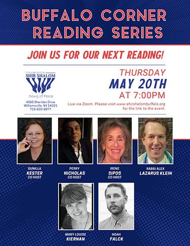 Buffalo Reading Corner Series May 2021