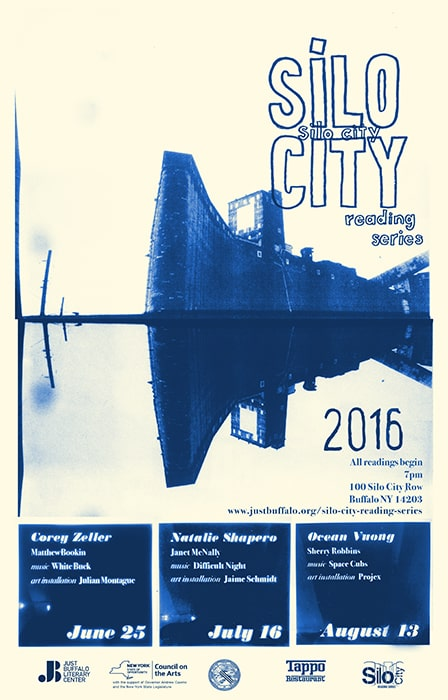 Silo City Reading Series 2016 poster