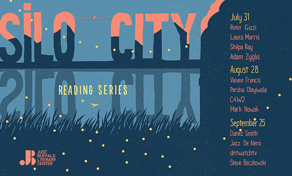 Silo City Reading Series 2021 banner