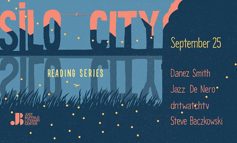 Silo City Reading Series September 2021 banner
