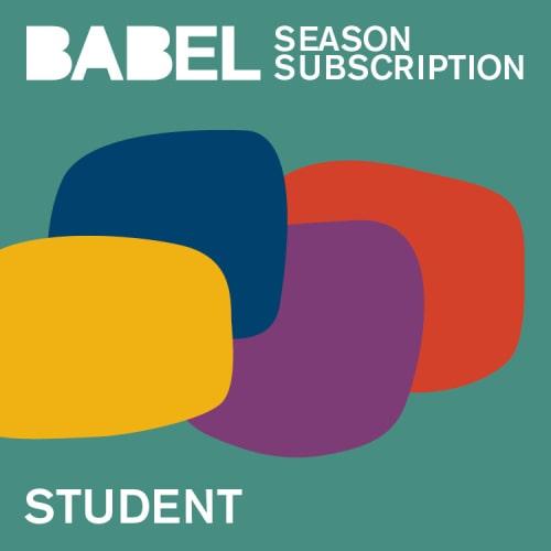 BABEL Student Season Subscriptions - 2021-2022 - Just Buffalo Literary Center