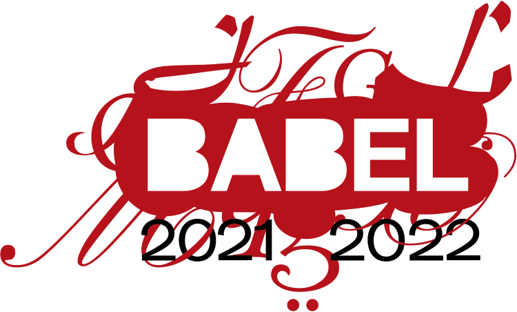 BABEL 2021-2022 - Logo - Just Buffalo Literary Center